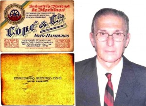 Gustavo Copé's card (Founder)   Lothar Proteo Copé