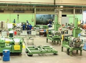 Vista da fábrica